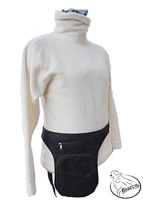 Bracco Bokovka, taška kolem pasu, nebo ramen - oranžová, SINUS tlapka a srdce