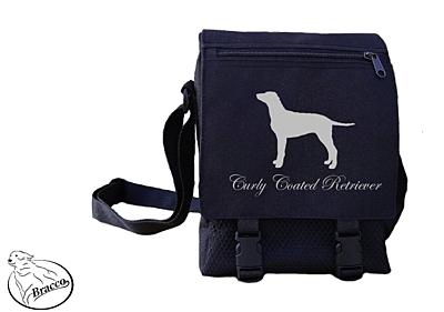 Bracco bag City or Country, Curly Coated Retriever