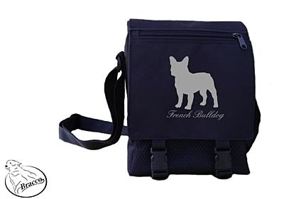 Bracco bag City or Country, French Bulldog