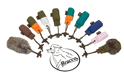 Bracco Dummy Key Chain with fur, Mini Dummy- Different Colors.
