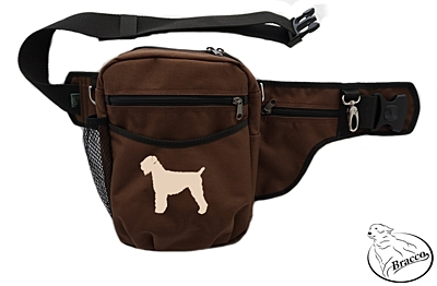 Bracco dog training belt Multi, brown Black Russian Terrier