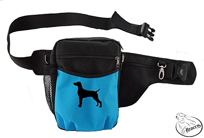 Bracco dog training belt Multi, black/blue Weimaraner