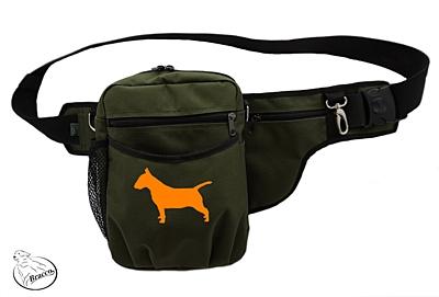Bracco výcvikový opasek Multi, khaki Bull Terrier