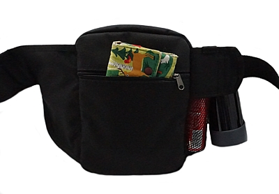 Bracco dog training belt Multi, black Bearded Collie