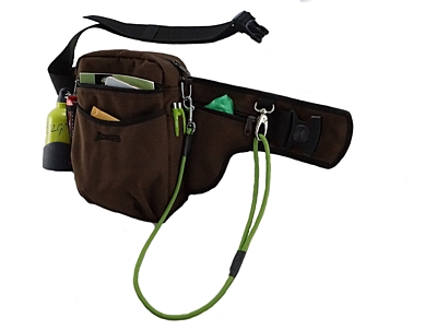 Bracco dog training belt Multi, brown- Alaskan Malamute