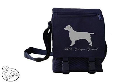 Bracco bag City or Country, Welsh Springer Spaniel