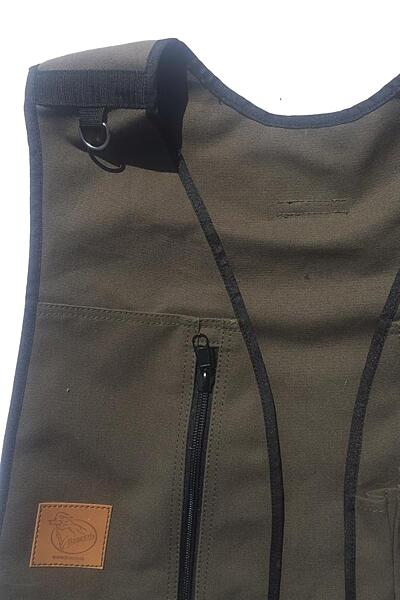 Bracco Dummy Vesta Dublin, barva khaki- různé velikosti.