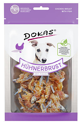 Dokas - Fish coated with chicken meat 70 g