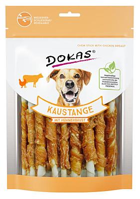 Dokas - Tyčinky z hovězí kůže obalené kuřecím 200 g