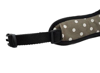 BRACCO postroj pro psa ACTIVE , tmavě béžová/puntík- různé velikosti.