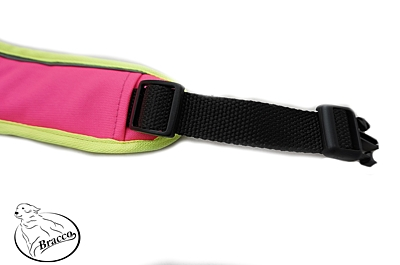 BRACCO dog harness ACTIVE, neon pink - various sizes.