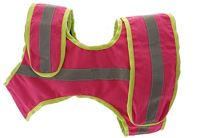 Bracco signal vest for hunting dog, pink- different sizes